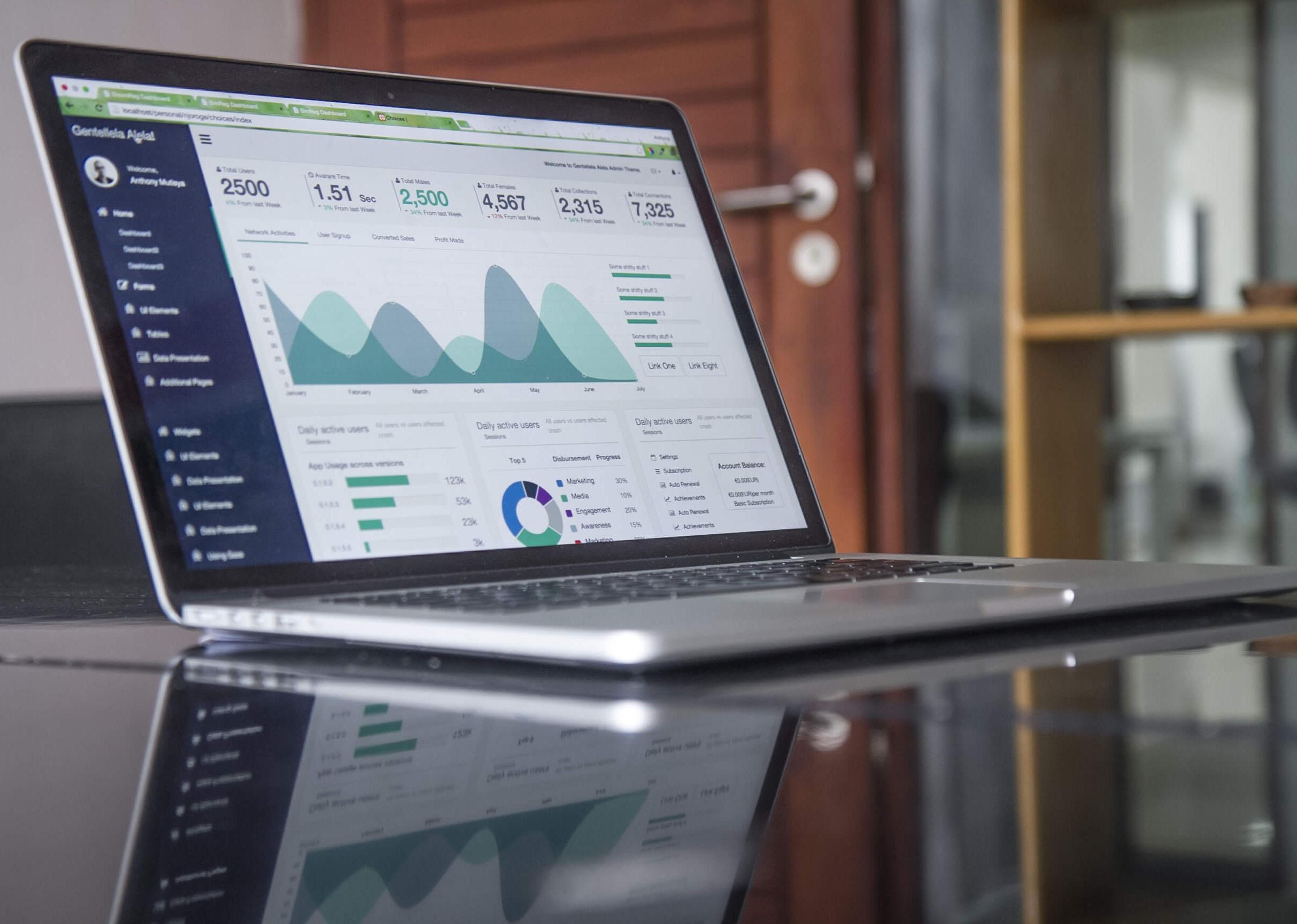 dati statistici creator studio
